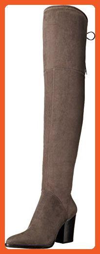 50ed795cc99 Marc Fisher LTD Women s Alinda Gray Fabric Boot - Boots for women ( Amazon  Partner