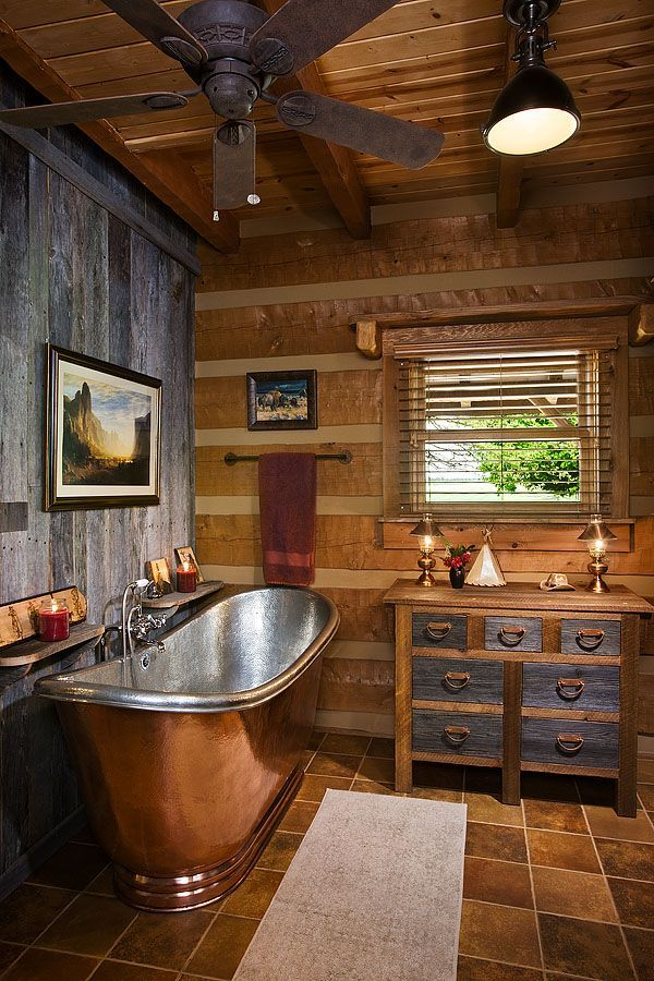 18 Log Cabin Home Decoration Ideas   MeCraftsman