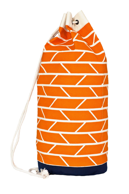 Orange Duffel