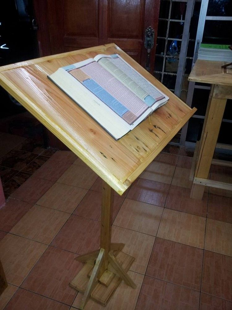 A Podium Also Known As A Dice Or A Stand Is A Very Useful Object It Is Useful Especially In Classrooms Argument Room Wood Pallets Pallet Diy Pallet Furniture