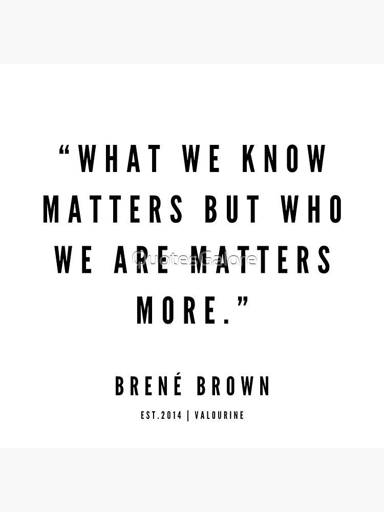 1    | Brene Brown Quotes | 190524 Magnet by QuotesGalore