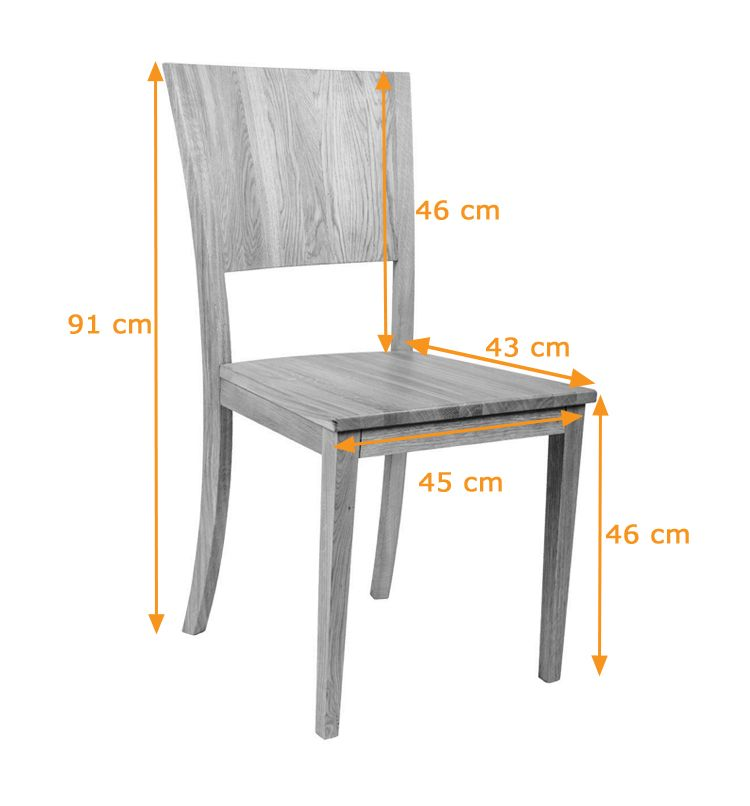 Dining Chair Size