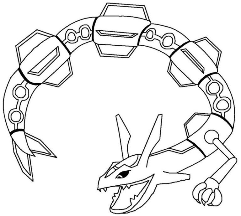 Super Armor Palkia Rayquaza Pokemon Coloring Pages | Palkia Pokemon ...