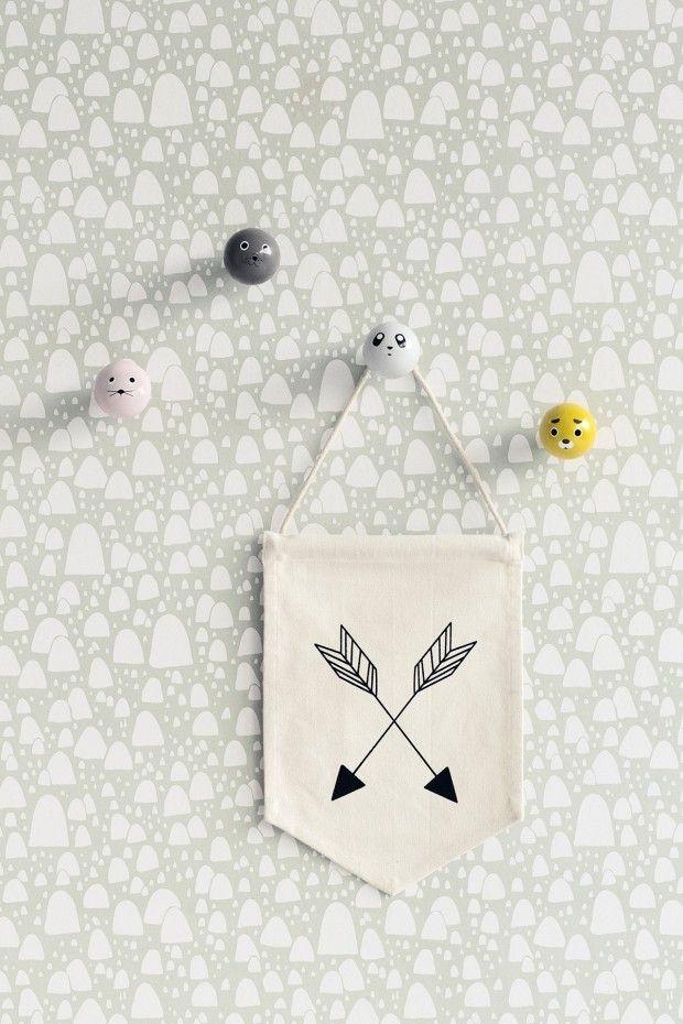 papier peint montagne ferm living papier peint ferm living pat re enfant et papier peint. Black Bedroom Furniture Sets. Home Design Ideas