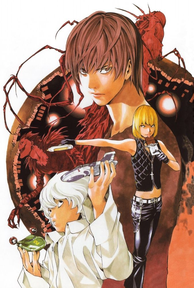 Tags Anime, DEATH NOTE, MADHOUSE, Ryuk, Near death note - death note
