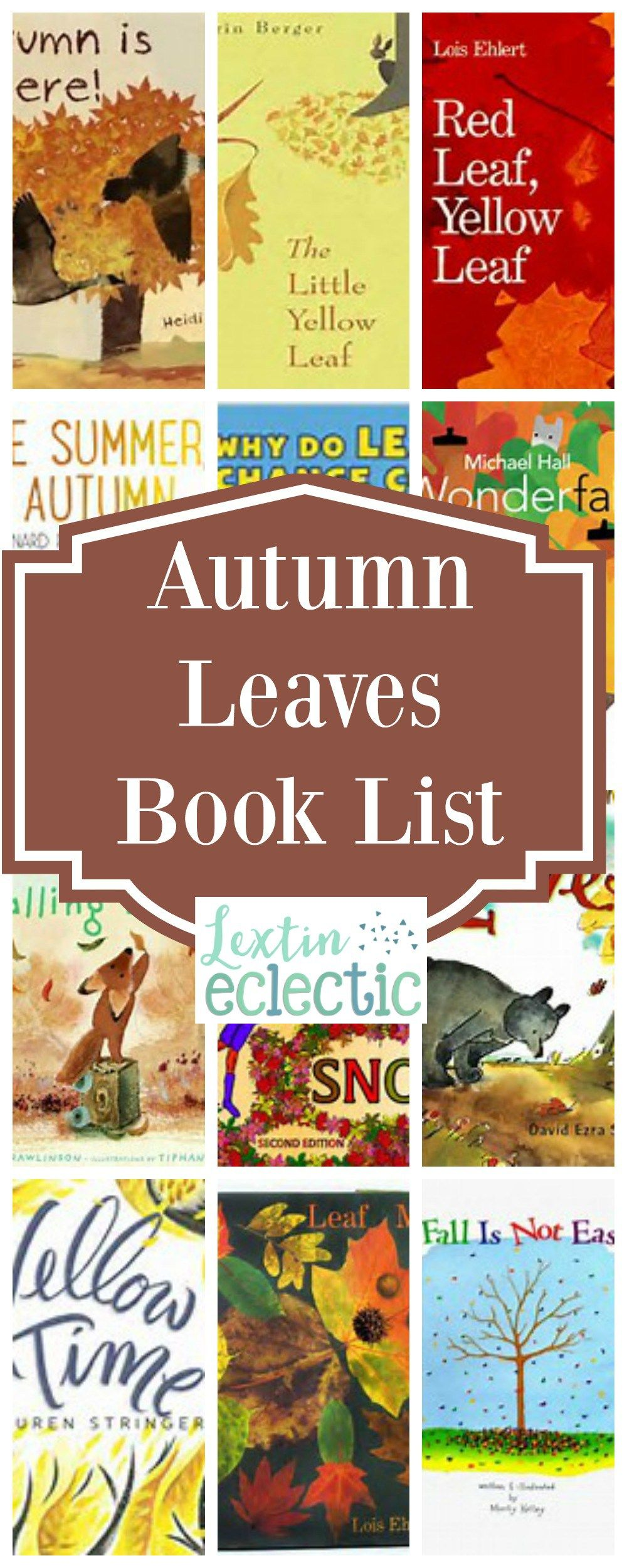Picture Books about Autumn Leaves