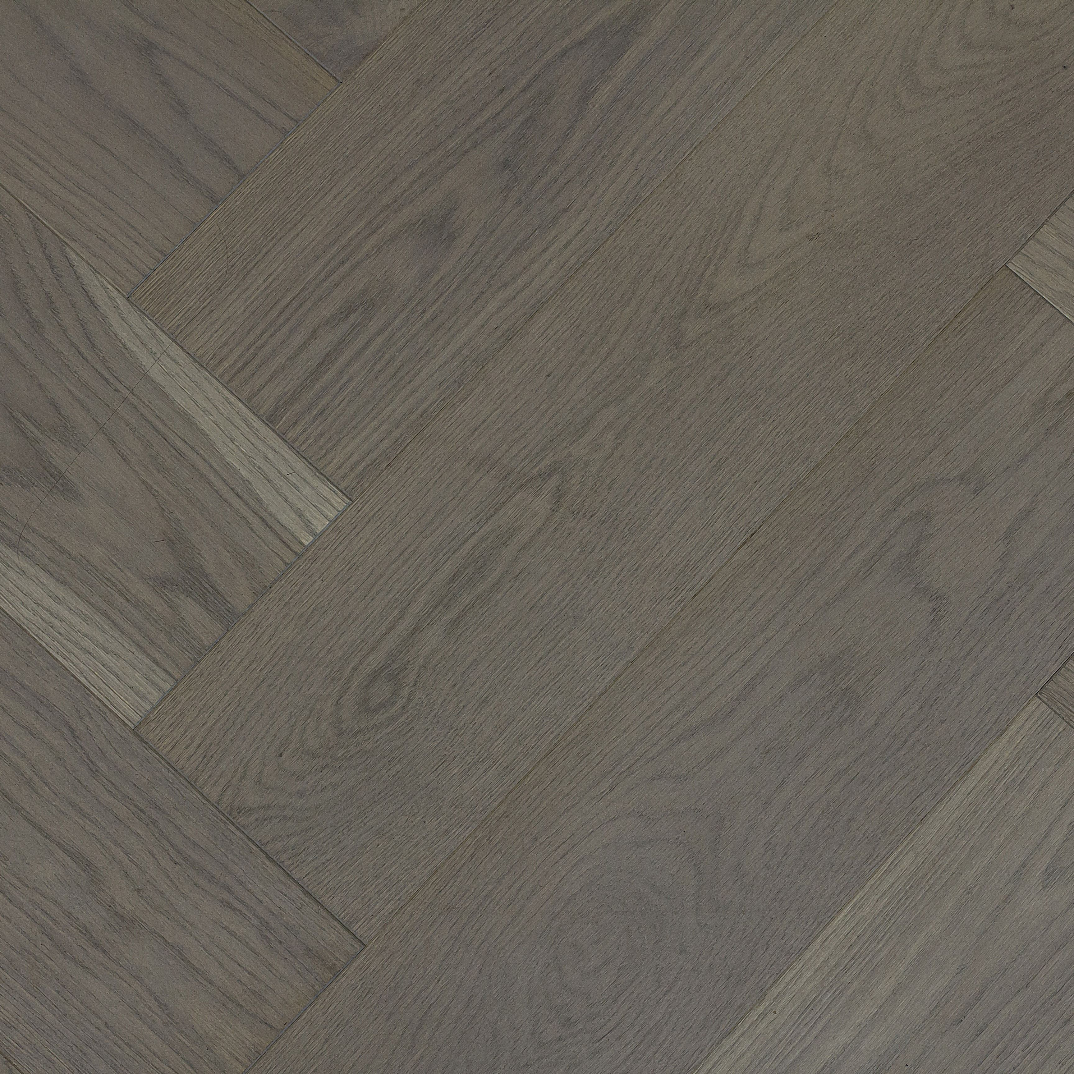 Engineered, Oak, Herringbone, Titanium, Grey Oiled Code SO