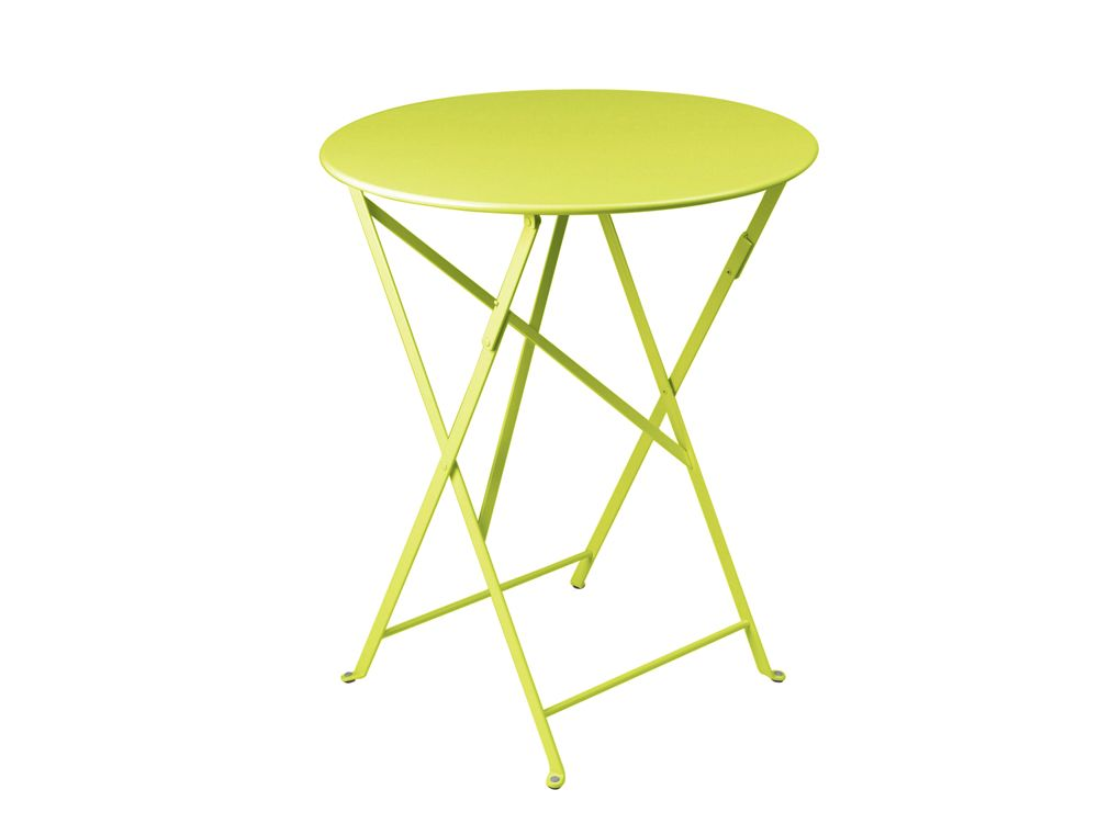 Table Bistro ronde 60 cm, table de jardin, table ronde jardin ...