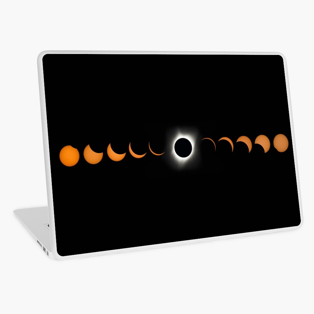 """NASA Solar Eclipse"" Laptop Skin by AmyOlsen Redbubble"