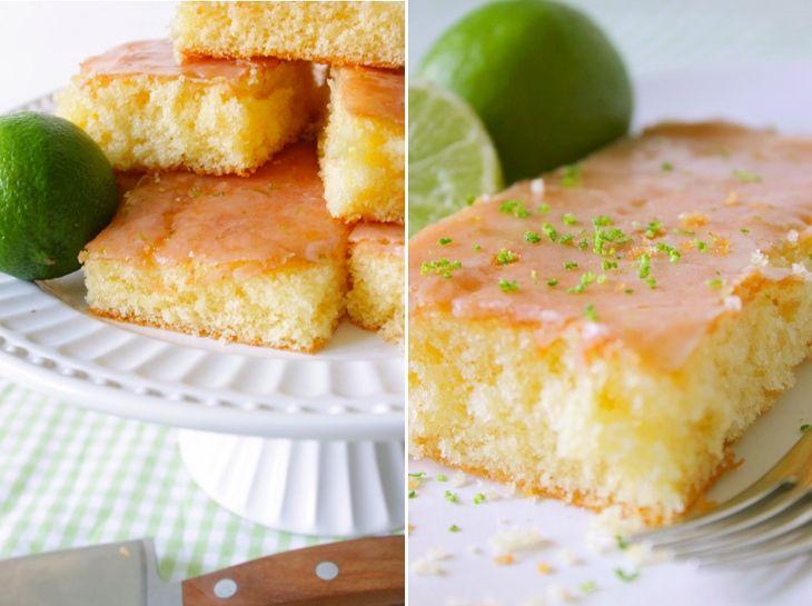 Limetten Kuchen