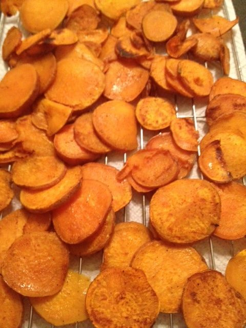 Love sweet potato fries, so these should be even better....