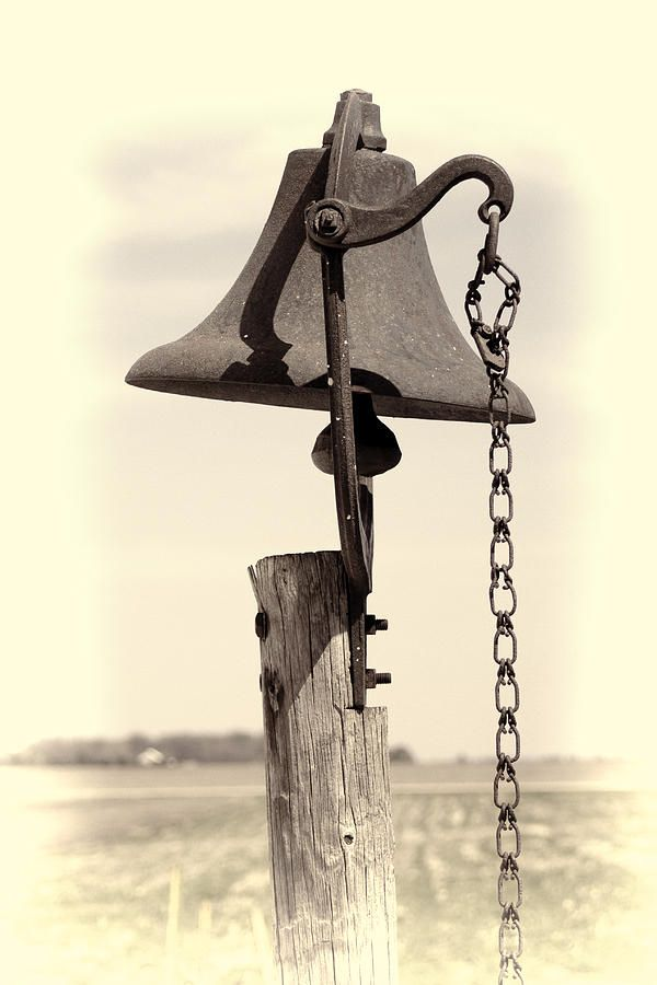 Old School Bell Photograph