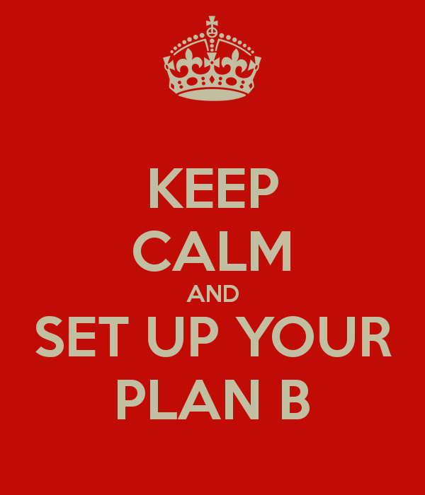 What's your plan B? #freepeopleteam