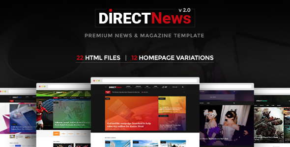 DirectNews - News & Magazine HTML Template . Direct News is modern on kodu game design, web game design, photoshop game design, rpg game design, android game design, google sketchup game design, uat game design,