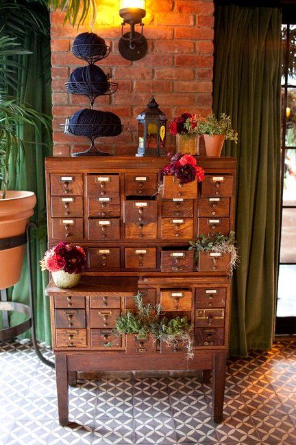 Vintage Library Card Catalogs Transformed Into Awe