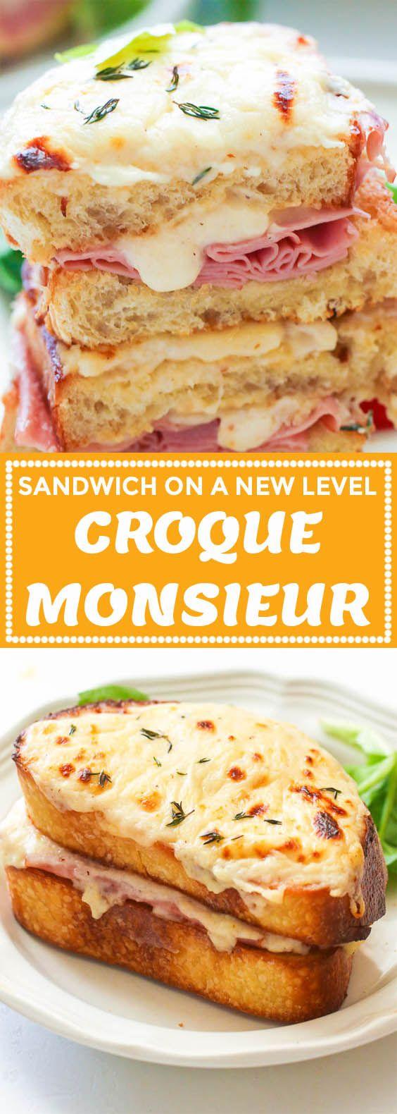 Croque Monsieur - Immaculate Bites