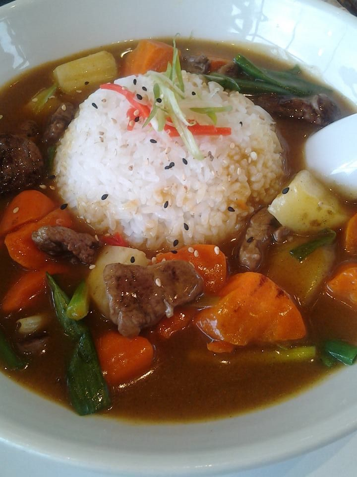 Comfort is calling. And our Matsusaka (beef curry rice