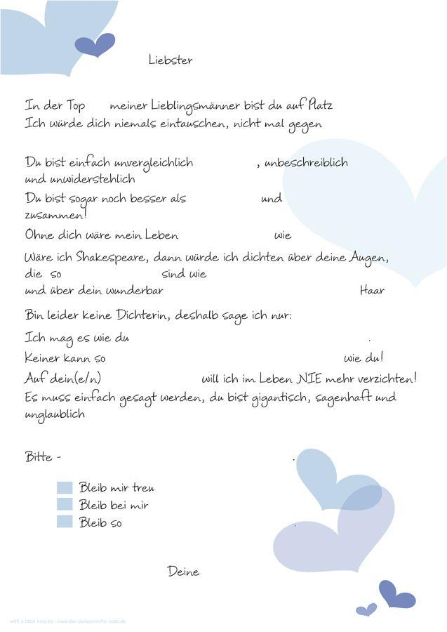 Pin Von Antje Auf Basteln Liebesbriefe Lustige Liebesbriefe Und