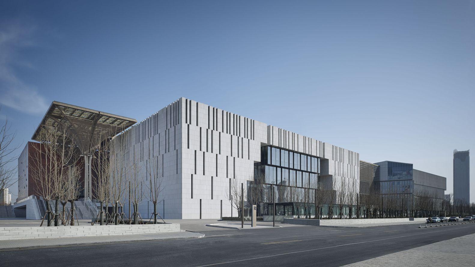 Gallery Of Tianjin Binhai Museum Gmp Architects 10 Museum Of Modern Art Tianjin Museum