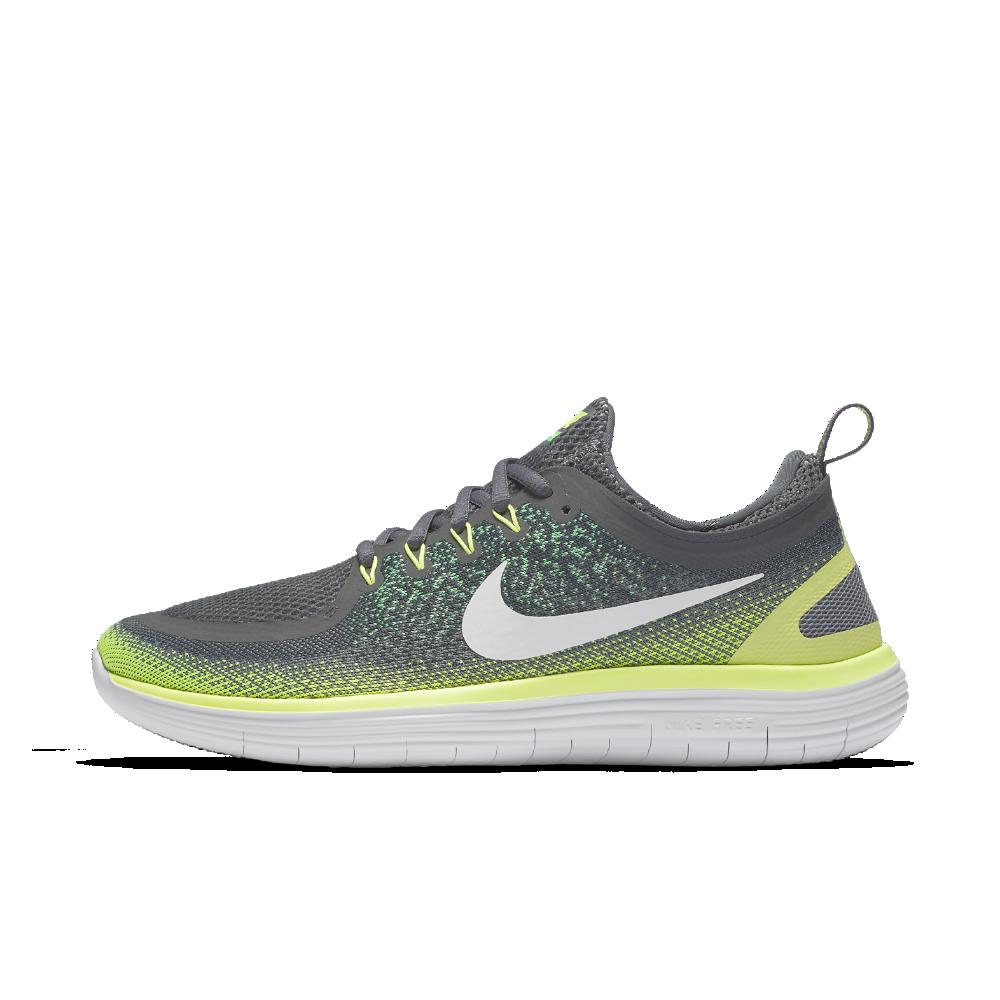 Nike Free Rn Distance 2 Men S Running Shoe Size 11 5 Grey Running Shoes For Men Nike Running Shoes