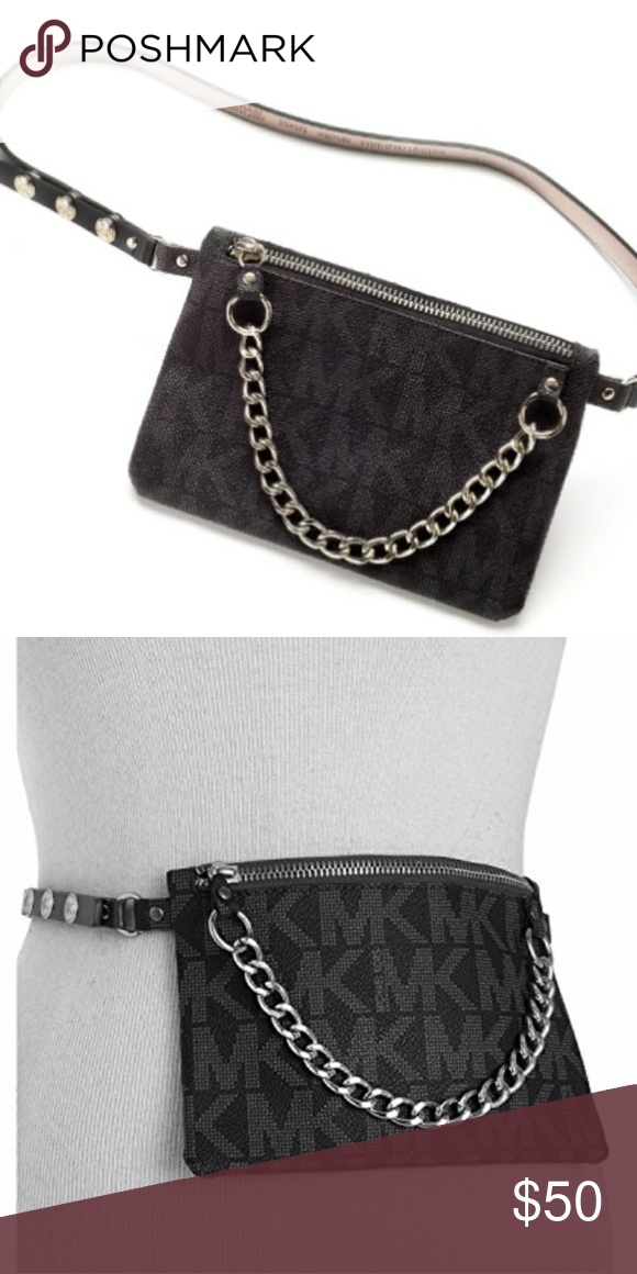 9ae761002a40 Michael Kors Belt Bag with Pull Chain NWOT New without tags Michael Kors  Bags
