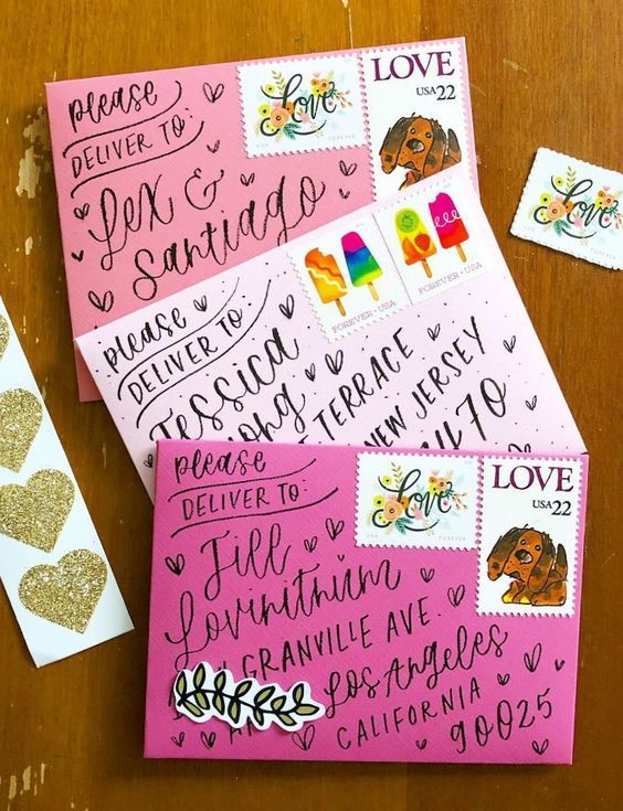 Seriously Cheap Ways to Decorate Your Snail Mail -