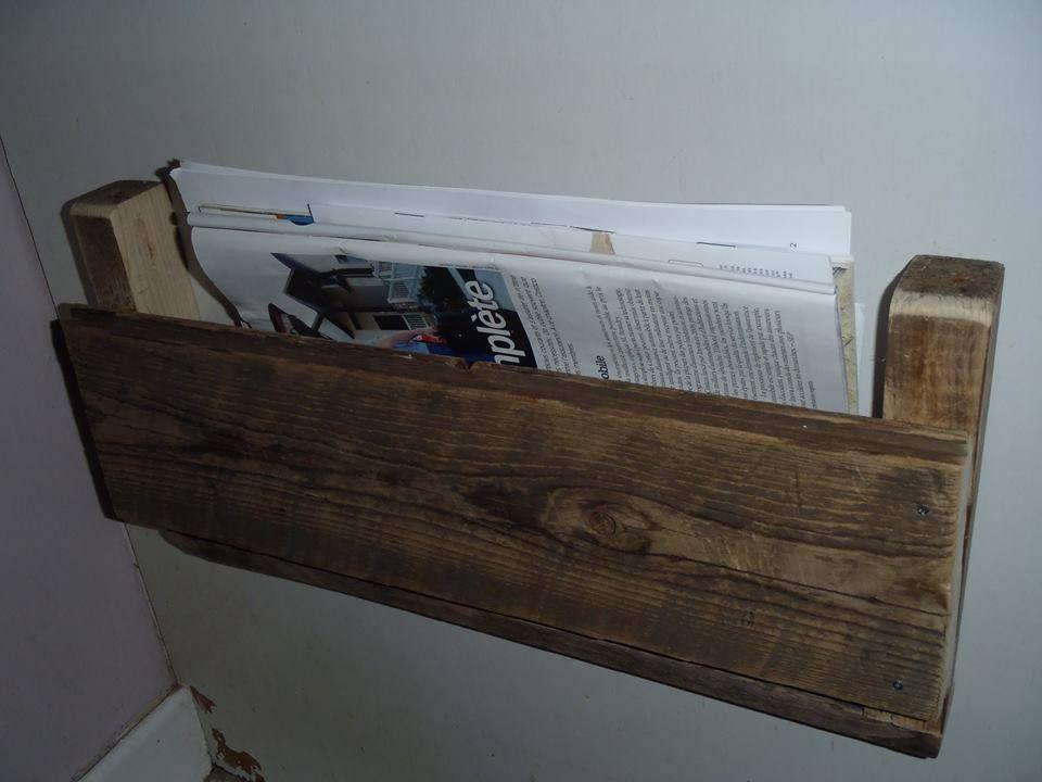 porte revues en bois de grange d co pinterest porte revues grange et magazines. Black Bedroom Furniture Sets. Home Design Ideas