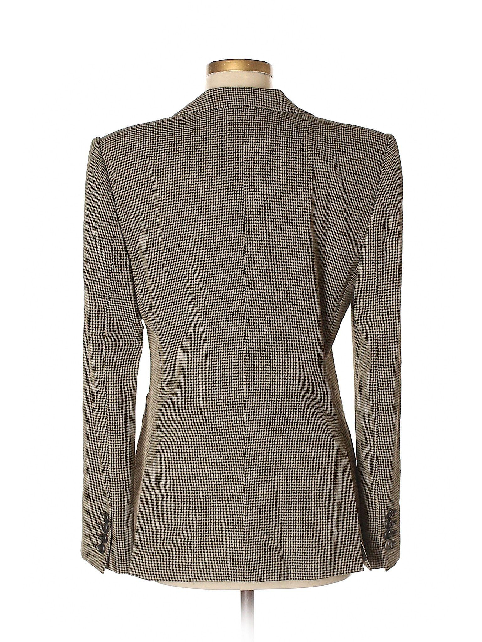 1559e9021b39 Armani Collezioni Blazer: Size 8.00 Tan Women's Jackets & Outerwear - $98.99