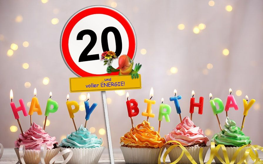 Geburtstagswunsche 20 Nachrichten Fur 20 Jahre Elegant