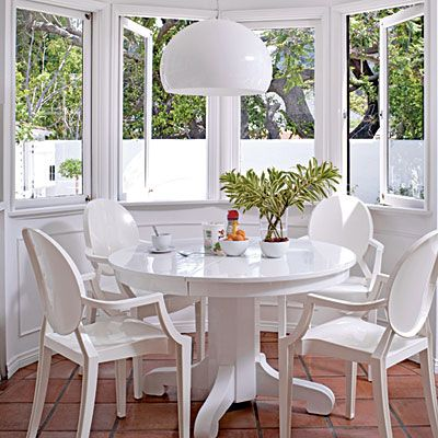 Our Favorite Modern Interiors  Dining Nook Nook And Room Simple White Contemporary Dining Room Sets Decorating Design