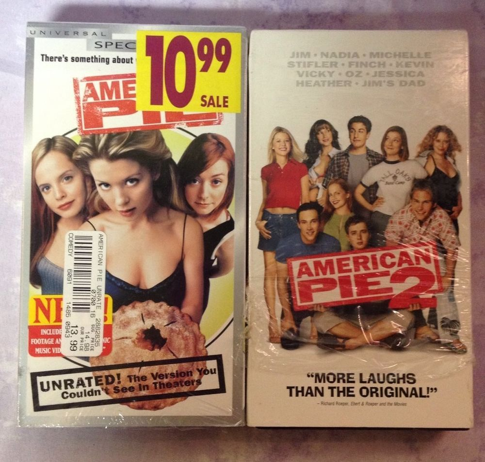 American Pie 1 2 Wedding Vhs Comedy Lot