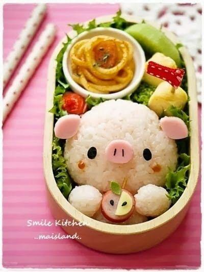 Arte en la comida Presentaciones estilo Kawaii Especial