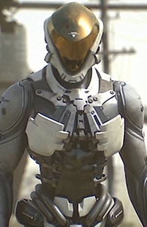 Talos From Appleseed Alpha Sci Fi Clothing Mech Suit Armor Concept
