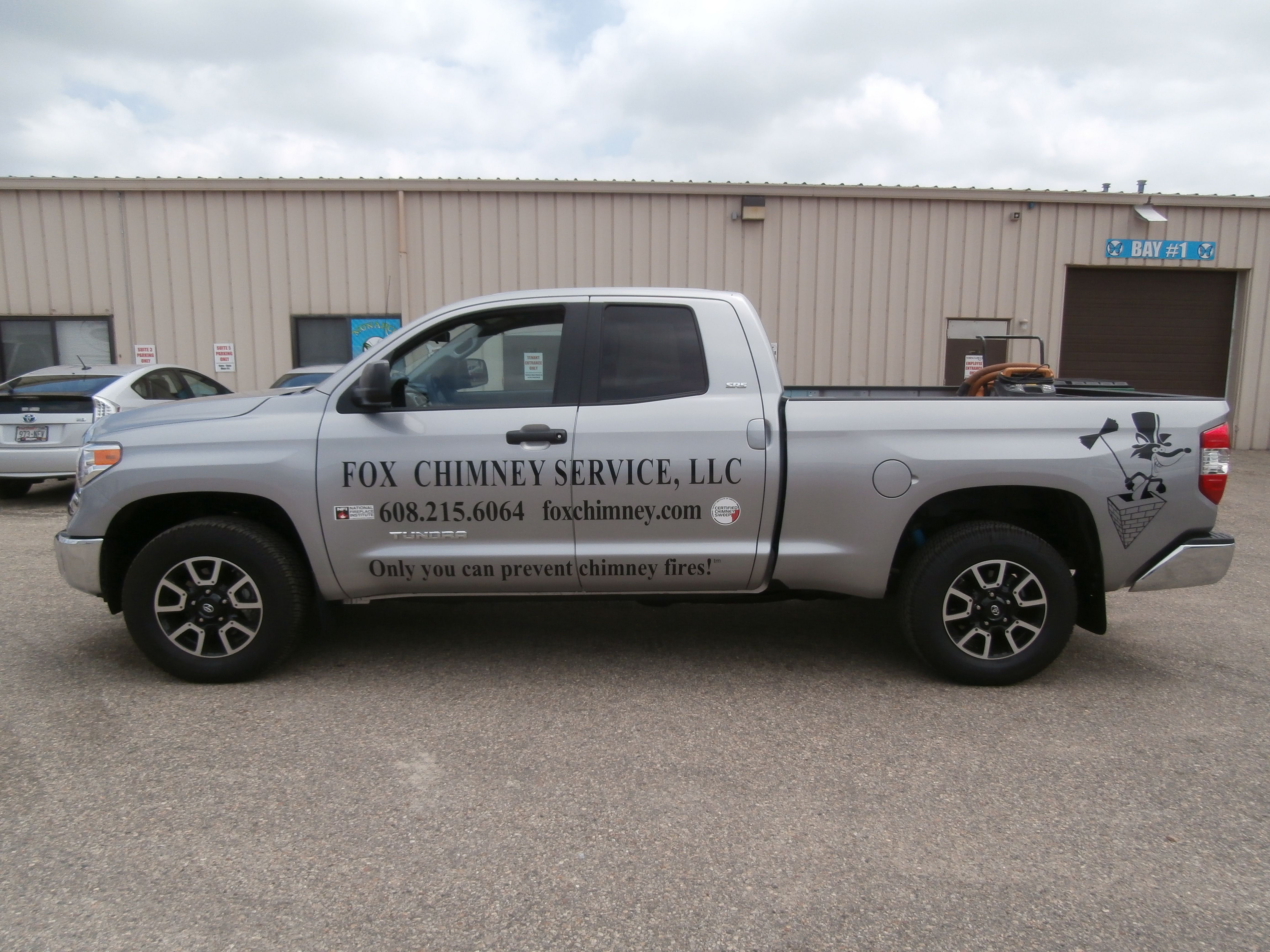Fox Chimney Truck Graphics Done By Monarch Media Designs In