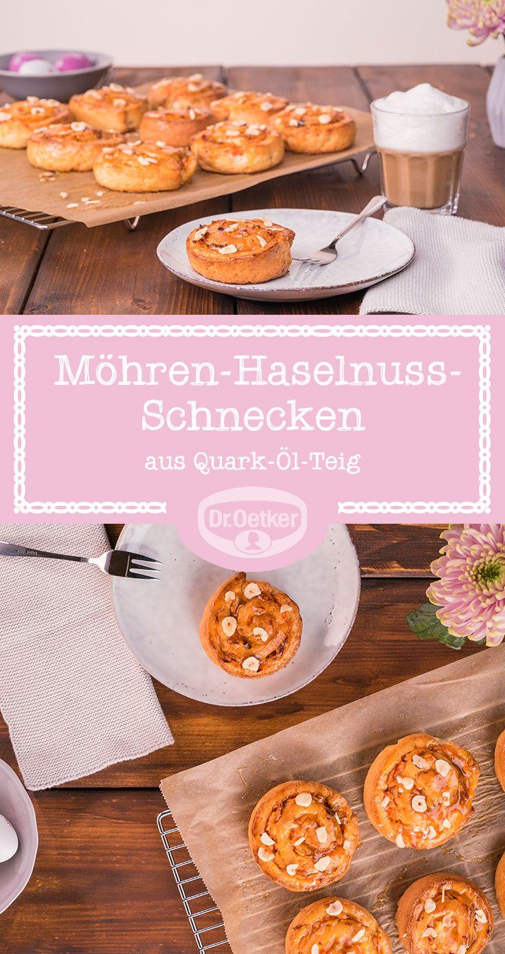 Mohren Haselnuss Schnecken Rezept Haselnuss Mohren Und Schnecke