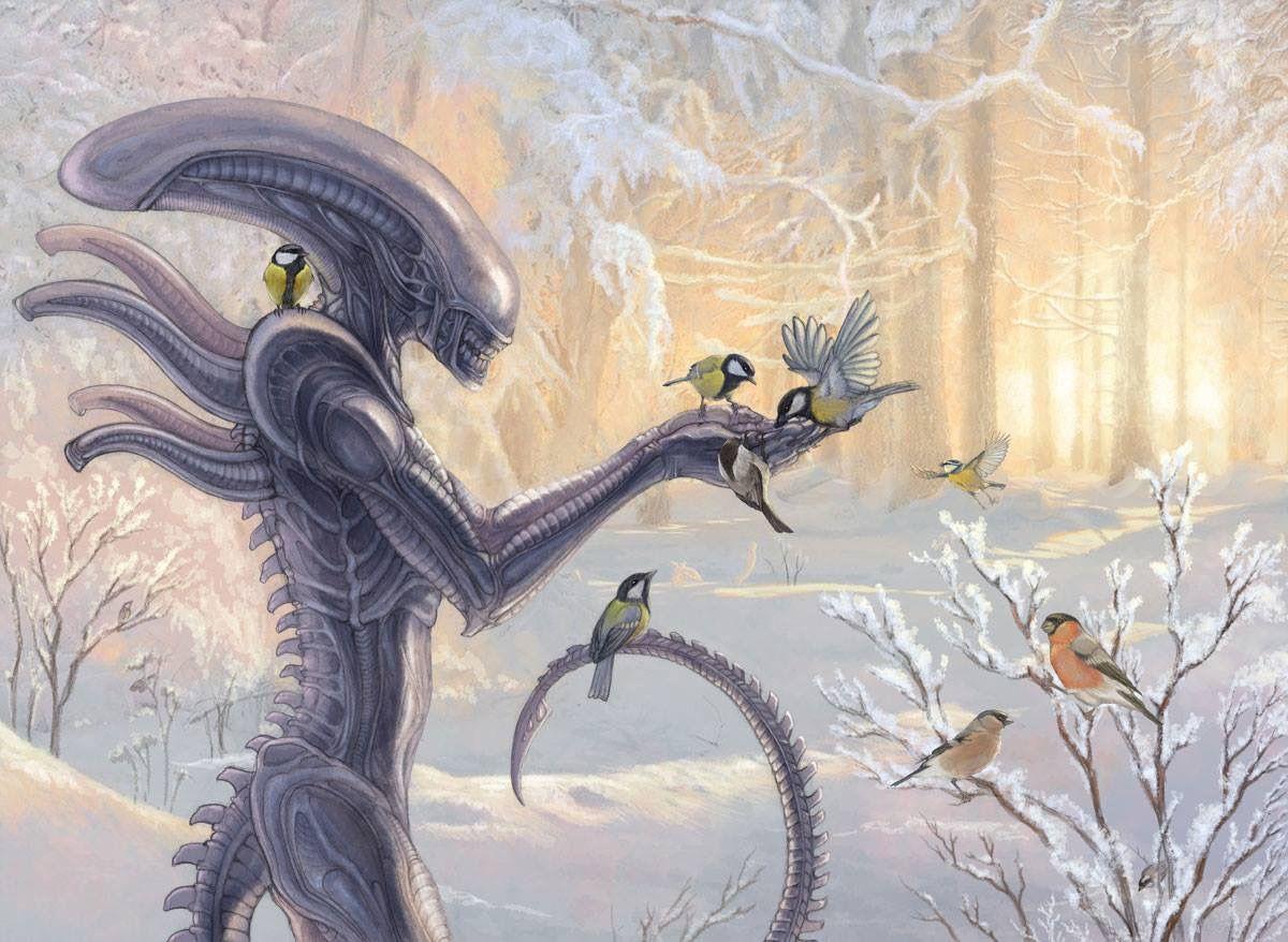 Pin De Karen Phillips En Alien Ilustraciones Xenomorfo Extraterrestre