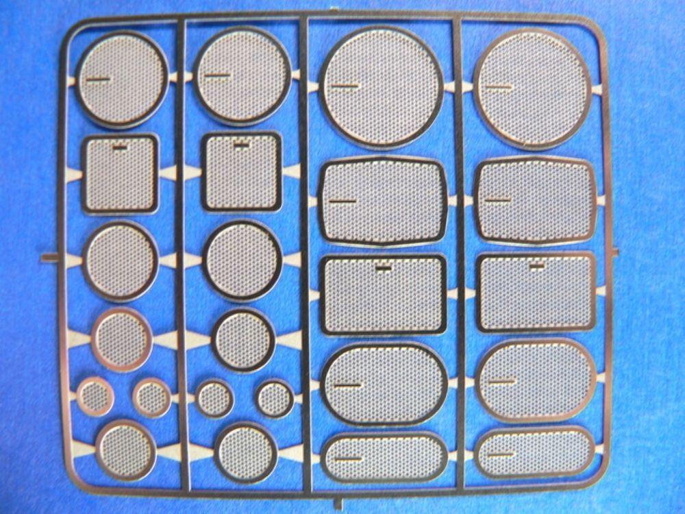 DETAIL MASTER 1//24-1//25 Header Flanges Large DET2250