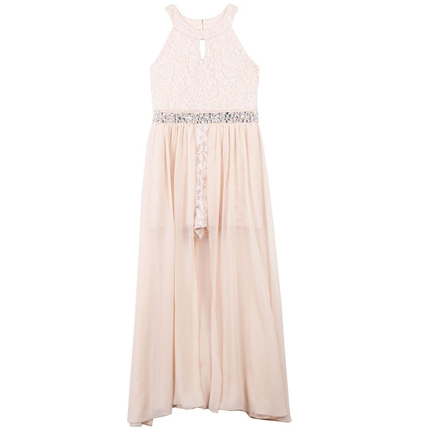 40d826717 Girls 7-16 Speechless Lace Maxi Overlay Dress in 2019 | Products ...