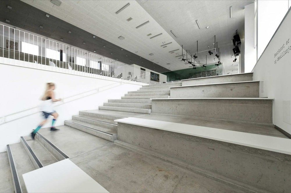 Concrete Stair + Seating