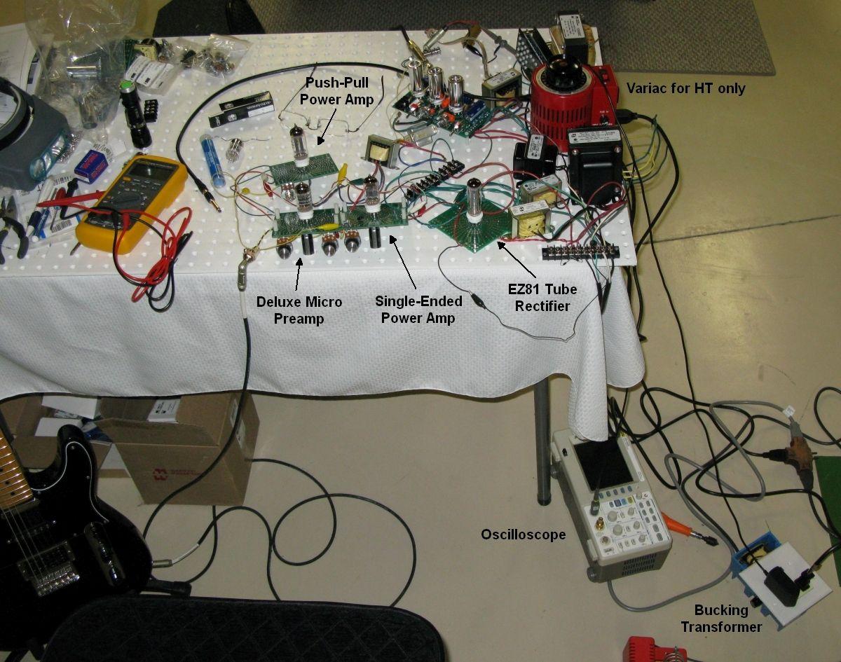 Deluxe Micro Diy Electrical Micro Amplifier