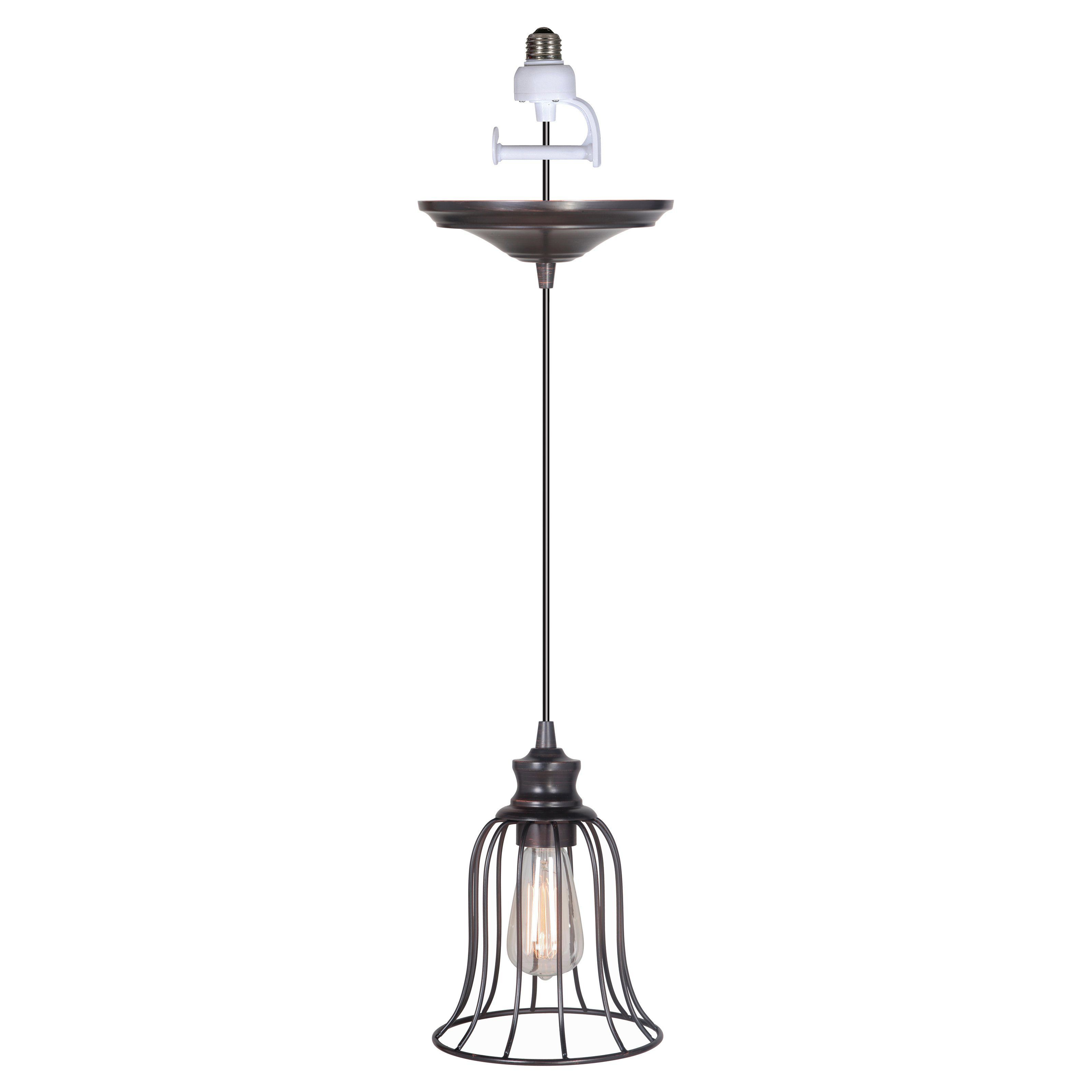 Worth Home Products Pkn 91 Instant Screw In Pendant Light