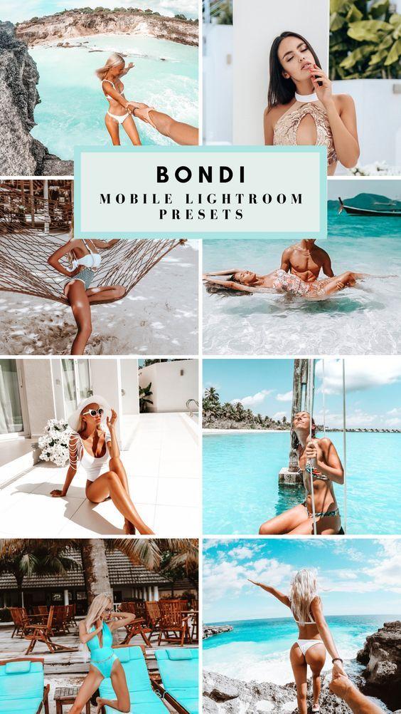 Bondi Mobile Presets in 2020 Summer presets, Lightroom
