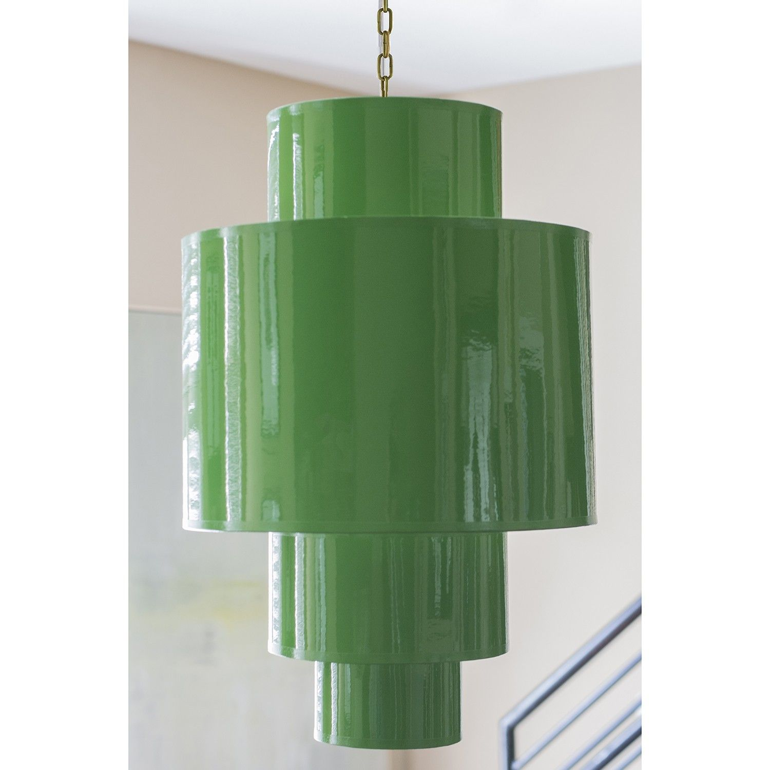 Couture 4 Tier Pendant - Kelly Green | Lighting | Pinterest
