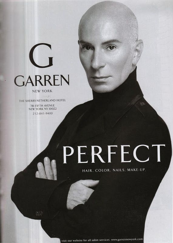 The most famous hair stylist in NYC -Garren. A mere $13 for a cut ...