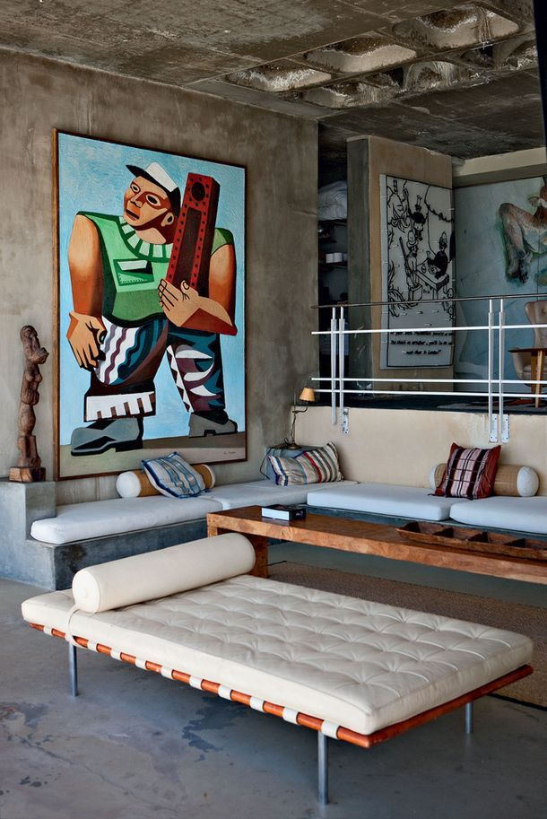 Mies Van Der Rohe Daybed Dtla Loft Pinterest Interior Home