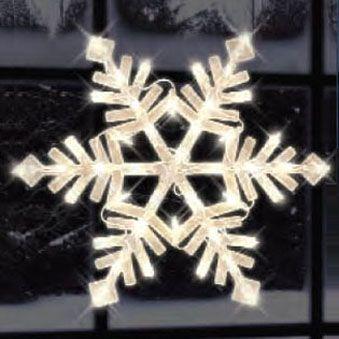 Illuminated snowflake window silhouette american sales illuminated snowflake window silhouette workwithnaturefo