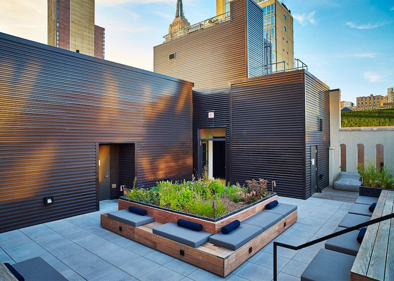 Piet Oudolf creates rooftop garden for New York condo building