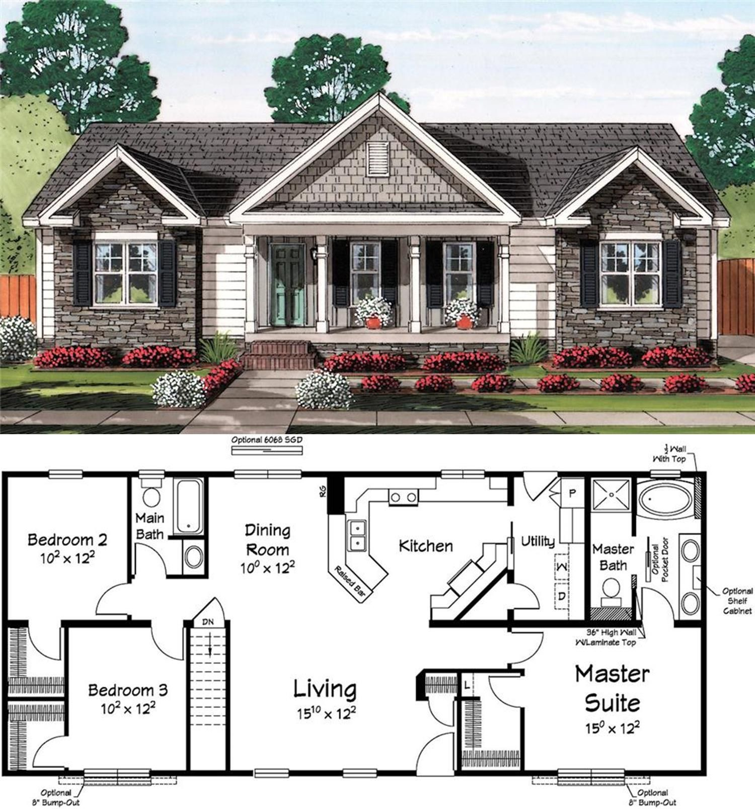 Classic Curb Appeal Housing New House Plans Dream House Plans