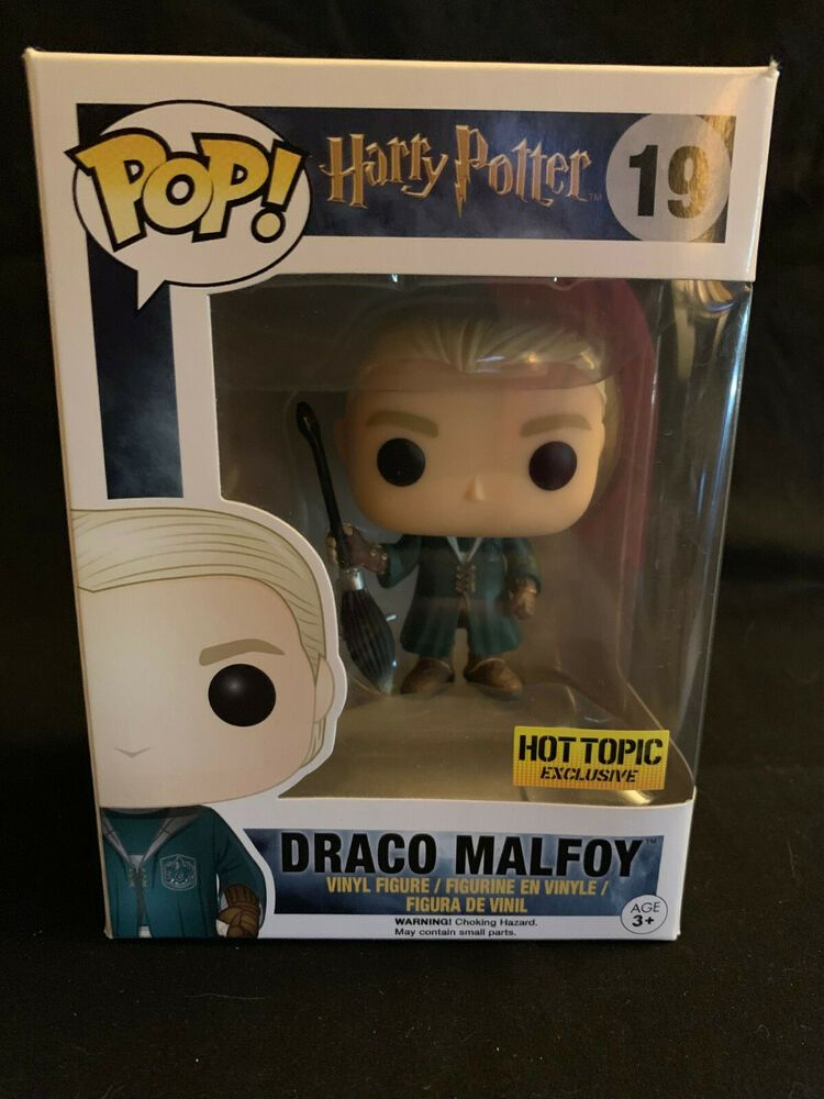 Funko pop harry potter draco malfoy hot topic figura vinilo figure tv cine