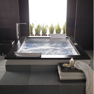 Jacuzzi Fuzion 72 X 60 Whirlpool Bathtub With Light And Heater In 2021 Home Dream Bathrooms Beautiful Bathrooms